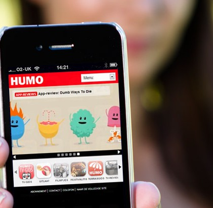 Humo mobile site